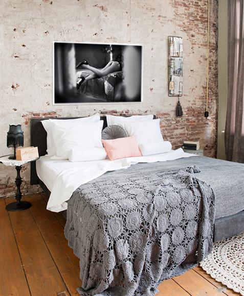 schlafzimmer bild wand